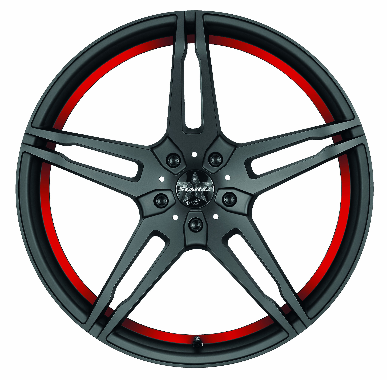 Barracuda Starzz matt black red