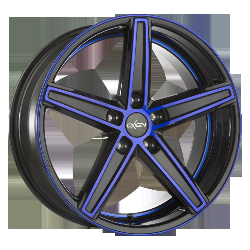 Oxigin 18 Concave blue polish
