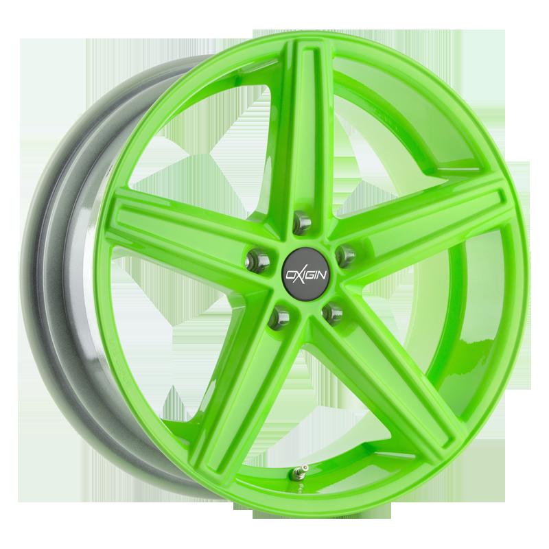 Oxigin 18 Concave neon green
