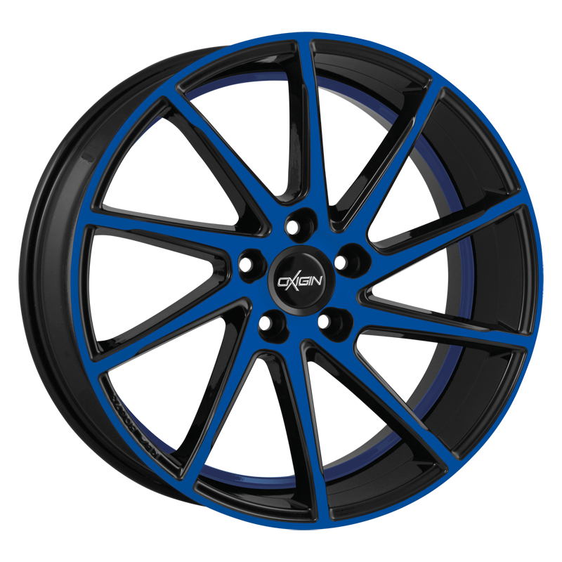 Oxigin 20 Attraction blue polish