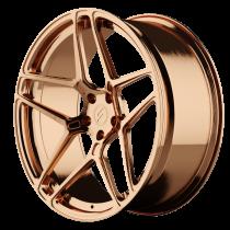 6sixty Emblem bronze matte
