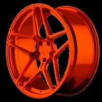 6sixty Emblem liquid orange