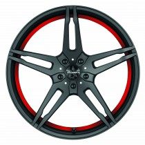Barracuda Starzz matt black red