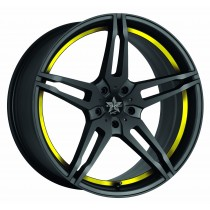 Barracuda Starzz matt black yellow