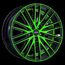 Oxigin 19 Oxspoke neon green polish