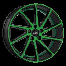 Oxigin 20 Attraction neon green polish