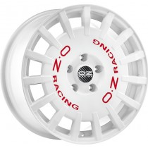 OZ Rally Racing weiss rote Schrift