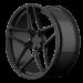 6sixty Emblem gunmetal matte