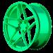6sixty Emblem liquid green